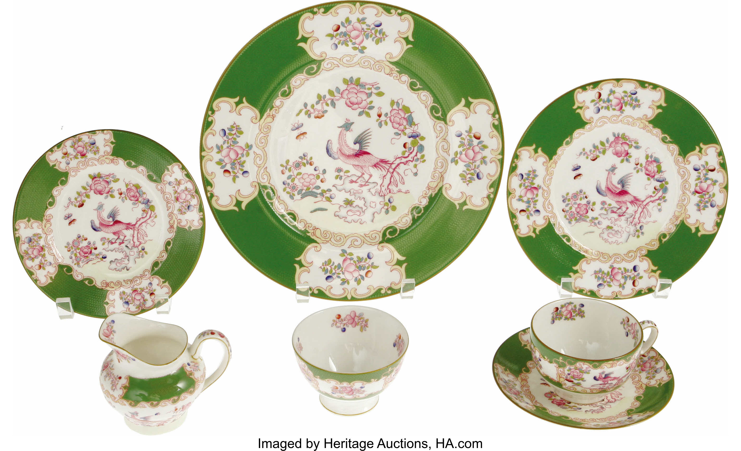 Ava Gardner Owned Minton China Green