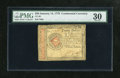 Colonial Notes:Continental Congress Issues, Continental Currency January 14, 1779 $20 PMG Very Fine 30. Amoderately circulated example of this final Continental emissi...