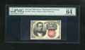 Fractional Currency:Fifth Issue, Fr. 1266 10c Fifth Issue PMG Choice Uncirculated 64EPQ. This is anabundantly margined and crackling fresh example of this s...
