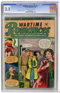 Golden Age (1938-1955):Romance, Wartime Romances #11 (St. John, 1952) CGC VG- 3.5 Off-white towhite pages....