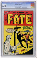 Golden Age (1938-1955):Horror, The Hand of Fate #25 (Ace, 1954) CGC FN+ 6.5 Cream to off-whitepages....
