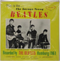 """Music Memorabilia:Recordings, """"This is the...The Savage Young Beatles"""" Sealed LP (Savage 69,1964). A repackage of the Tony Sheridan and The Beat Brothers..."""
