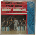 "Music Memorabilia:Recordings, Buddy Johnson and his Orchestra ""Rock 'N Roll Stage Show"" Sealed LP (Mercury 12111, 1956). Condition: NM 8/ Still sealed...."