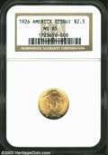 Commemorative Gold: , 1926 Sesquicentennial MS65 NGC. ...