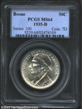 Commemorative Silver: , 1935-D Boone MS64 PCGS. The current Coin Dealer ...