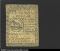 Colonial Notes:Continental Congress Issues, February 17, 1776, $1/3, Continental Congress Issue, CC-20, ...