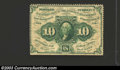Fractional Currency:First Issue, First Issue 10c, Fr-1241, Fine-Very Fine. A nice circulated ...