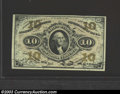 Fractional Currency:Third Issue, Third Issue 10c, Fr-1251, Gem CU. This is a gorgeous red back ...