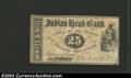 Obsoletes By State:New Hampshire, 1862 25¢ White & Hill, Nashua, NH, Very Fine. Payable at the ...