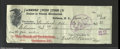 Miscellaneous:Checks, Check from the Farmers' Union Store Co., Goldston, NC, Jan. 5, ...