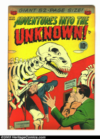 Adventures Into the Unknown #29 (ACG, 1952) Condition: FN+. Would grade higher, but the edges are browning. Overstreet 2...