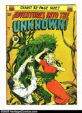 Golden Age (1938-1955):Science Fiction, Adventures Into the Unknown Group (ACG, 1955). #32 FN-, #33 VG, #36VG+, #39 FN, #46 FN-, #77 FN-, and #78 FN. These books a... (Total:7 Comic Books Item)