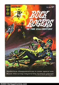 Buck Rogers #1 (Gold Key, 1964) Condition: VF. Overstreet 2003 VF 8.0 value = $64. From the White Rose Collection
