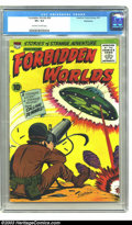 Golden Age (1938-1955):Science Fiction, Forbidden Worlds #54 Bethlehem pedigree (ACG, 1957) CGC VF+ 8.5Off-white to white pages. Kurt Schaffenberger art. Overstree...