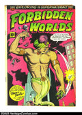 Golden Age (1938-1955):Horror, Forbidden Worlds Group (ACG, 1953). #12 GD/VG piece off back cover,#14 FN+ (looks beautiful but has browning), #17 FN (look... (Total:6 Comic Books Item)