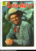 Golden Age (1938-1955):Western, Gene Autry Comics & Champion Group (Dell, 1955). Gene Autry #99 FN+ and Gene Autry's Champion #9 VF-. Overstreet 2003 v...(Total: 2 Comic Books Item)