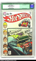 Bronze Age (1970-1979):Miscellaneous, Hot Wheels #1 (DC, 1970) CGC Qualified VF/NM 9.0 Cream to off-whitepages. Alex Toth cover and art. Cover detached from bott...
