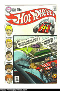 Bronze Age (1970-1979):Miscellaneous, Hot Wheels #1 (DC, 1970) Condition: FN+. Overstreet 2003 FN 6.0value = $27. From the White Rose Collection....