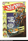 Bronze Age (1970-1979):Miscellaneous, Hot Wheels #4 (DC, 1970) Condition: VF. Overstreet 2003 VF 8.0value = $38. From the White Rose Collection....