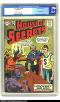Silver Age (1956-1969):Horror, House of Secrets #58 (DC, 1963) CGC VF/NM 9.0 Cream to off-whitepages. Origin of Mark Merlin. Mort Meskin cover and art, Le...