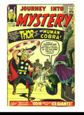 Silver Age (1956-1969):Superhero, Journey into Mystery Group (Marvel, 1962) Condition: Average GD+.#98, 100, 102-105. Early Thor issues. Overstreet 2003 valu...(Total: 6 Comic Books Item)
