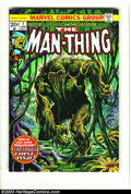 Bronze Age (1970-1979):Horror, Man-Thing #1 (Marvel, 1974) Condition: VF/NM. Overstreet 2003 VF/NM9.0 value = $37....