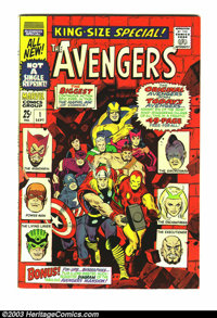 Marvel Giants Group (Marvel, 1966). Avengers Annual #1 VF, Daredevil Annual #1 FN/VF, Marvel Tales #1 GD, Sgt. Fury Annu...