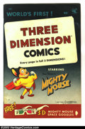 Golden Age (1938-1955):Cartoon Character, Mighty Mouse Adventures 3D 1st print (St. John, 1953) Condition:FN. Glasses are loose. Overstreet 2003 FN 6.0 value = $93....
