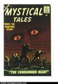 Golden Age (1938-1955):Horror, Mystical Tales #4 (Atlas, 1956) Condition: FN+. Reed Crandallartwork. Overstreet 2003 FN 6.0 value = $81....