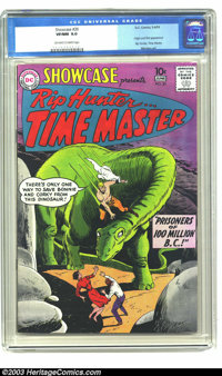 Showcase #20 (DC, 1959) CGC VF/NM 9.0 Off-white to white pages. Origin and first appearance Rip Hunter, Time Master. Mor...