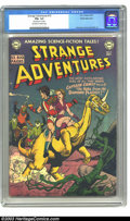 Golden Age (1938-1955):Science Fiction, Strange Adventures #12 White Mountain pedigree (DC, 1951) CGC FN+6.5 Off-white to white pages. Toth, Kane, and Infantino ar...
