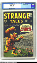 Silver Age (1956-1969):Horror, Strange Tales #98 (Marvel, 1962) CGC FN/VF 7.0 Cream to off-whitepages. Jack Kirby and Steve Ditko artwork. Overstreet 2003...