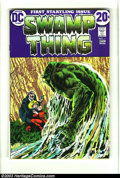 Bronze Age (1970-1979):Horror, Swamp Thing Group of #1 and #2 (DC, 1972) Condition: Average VF-.Overstreet 2003 value for group = $100.... (Total: 2 Comic BooksItem)