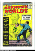 Silver Age (1956-1969):Horror, Unknown Worlds Group of #1, #2 and #52 (ACG, 1960) Condition:Average GD. Overstreet 2003 value for group = $40.... (Total: 3Comic Books Item)
