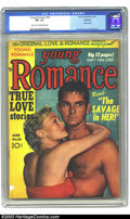 Golden Age (1938-1955):Romance, Young Romance Comics #22 Rockford pedigree (Prize, 1950) CGC FN-5.5 Light tan to off-white pages. Photo cover, Jack Kirby a...