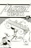 Original Comic Art:Splash Pages, Brendon and Brian Fraim - Original Art for Knights of the Dinner Table Illustrated #18, page 18 (Kenzer & Co., 2003).When co...
