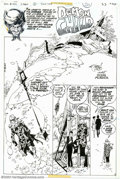Original Comic Art:Splash Pages, Alex Nino - Original Splash Page Art for House of Mystery #253,Story page 1 (DC, 1977). The urge to meddle in the darker fo...
