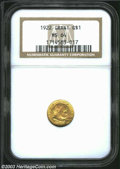 Commemorative Gold: , 1922 Grant no Star MS64 NGC. ...