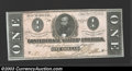 Confederate Notes:1864 Issues, 1864 $1 Clement C. Clay, T-71, Choice Crisp Uncirculated. A ...