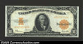 Large Size:Gold Certificates, 1922 $10 Gold Certificate, Fr-1173, Choice Crisp Uncirculated. ...