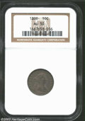 Early Dimes: , 1800 AU50 NGC. The current Coin Dealer Newsletter (...