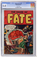 Golden Age (1938-1955):Horror, The Hand of Fate #11 (Ace, 1952) CGC VG/FN 5.0 Off-white pages....