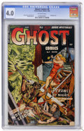 Golden Age (1938-1955):Horror, Ghost #3 (Fiction House, 1952) CGC VG 4.0 Off-white pages....