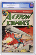 Golden Age (1938-1955):Superhero, Action Comics #19 (DC, 1939) CGC GD- 1.8 Cream to off-white pages....