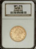 Liberty Eagles: , 1881 $10 MS63 NGC. Select and well struck with wheat-gold surfacesaccented in peach. The overall eye appeal is strong for ...