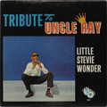 """Music Memorabilia:Recordings, Little Stevie Wonder """"Tribute to Uncle Ray"""" Promo LP (Tamla 232,1963). Near Mint copy of Wonder's first album, and it's a w..."""