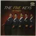 "Music Memorabilia:Recordings, Five Keys ""On Stage!"" LP (Capitol 828, 1957). This is the""uncensored"" cover that eventually was reworked to clean it up!.T..."