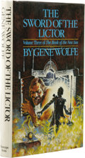 Books:Signed Editions, Gene Wolfe: Signed First Edition of The Sword of the Lictor. Volume Three of the Book of the Sun. (New York: Timesca...