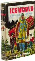 Books:Signed Editions, Hal Clement: Iceworld Signed First Edition. (New York: Gnome Press, 1953), first edition, 216 pages, green cloth wit...