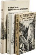 Books:First Editions, Three Book Lot on Science Fiction History, including:. HarryWarner, Jr.: All Our Yesterdays An Informal History of ...(Total: 3 )